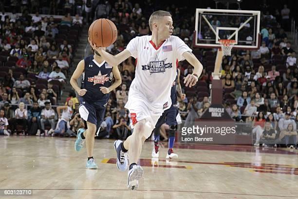 Street Basketball Legend The Professor of BallUp attends 2016 Power 106 All Star Celebrity Basketball Game at USC Galen Center on September 11 2016...