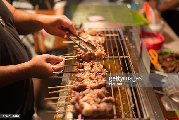 Street BBQ in Thailand