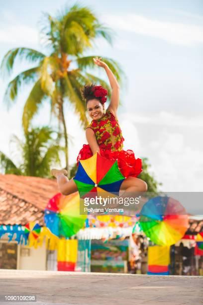 street brazilian carnival - frevo imagens e fotografias de stock