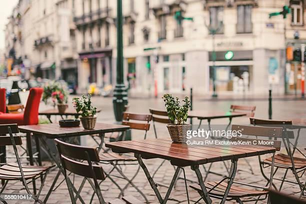 Street cafe, Brussels, Belgium