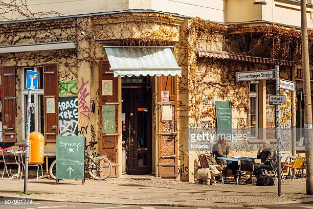 Street Cafe in Berlin, Prenzlauer Berg