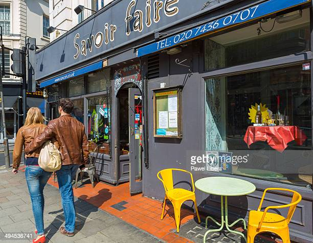 Street Cafe in Holborn arena of London