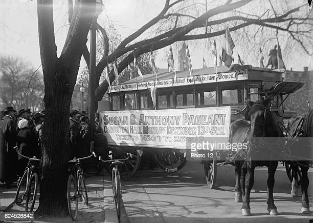 Street Car 1915 Susan B Anthony Pageant