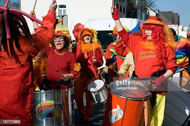 Street carnival in Cologne