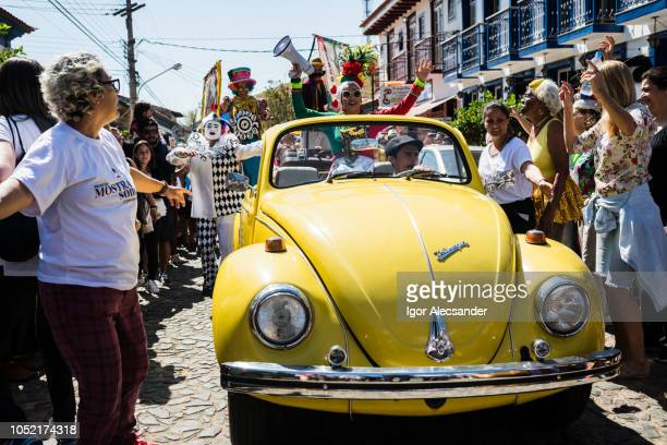 street carnival in conservatória, brazil - brand name stock pictures, royalty-free photos & images