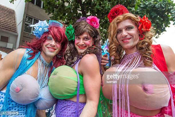 calle carnaval de río - senos grandes fotografías e imágenes de stock