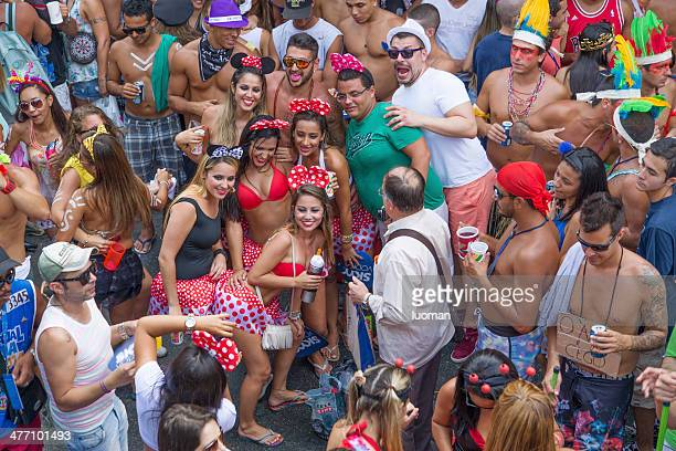 Street Carnaval no Rio de Janeiro