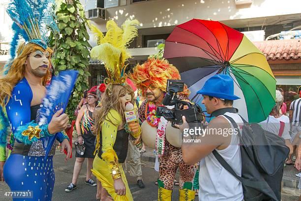 Rue Carnaval à Rio