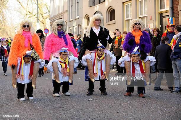 Street carnival parade in 's Hertogenbosch