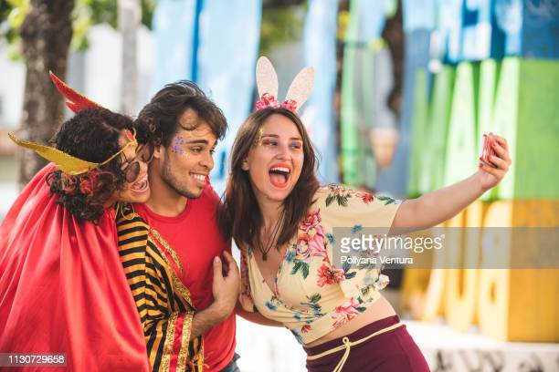 street carnvial - brazilian carnival stock pictures, royalty-free photos & images