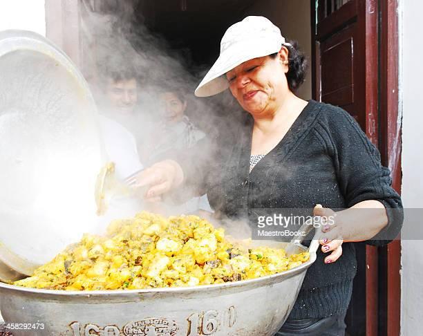 calle el chef - comida peruana fotografías e imágenes de stock
