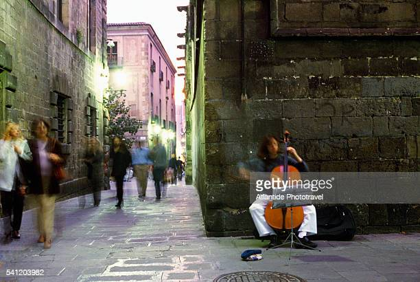 Street Concert in the Gothic Quarter
