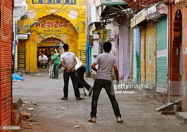 Street Cricket Jodhpur