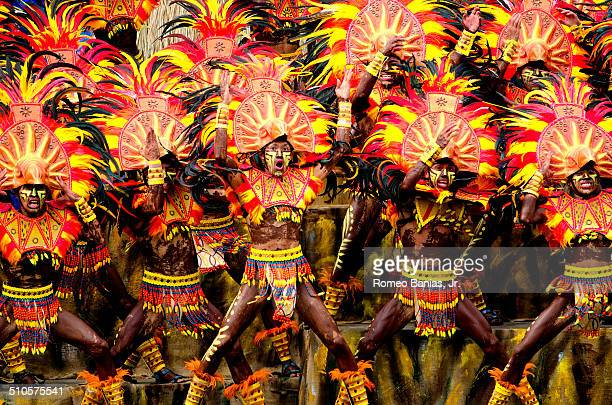 A street dancing festival held in the Philippine city of Iloilo every 4th weekend od January in honor of it's patron saint the Santo Niño or the Baby...