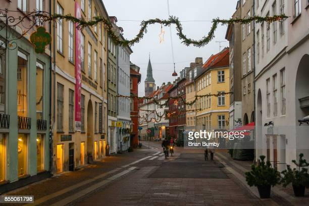 Street decorations - Christmas in Denmark