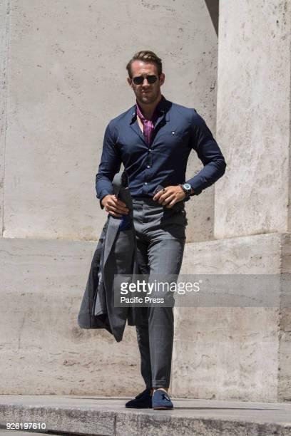 Street Fashion in Milan during Men Fashion Week