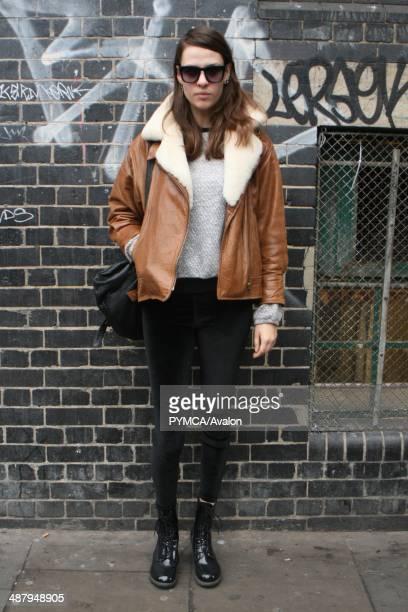 Street fashion portrait Brick Lane East London December 2011