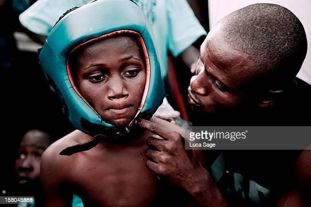 Street Fight Boxers, Accra, Ghana