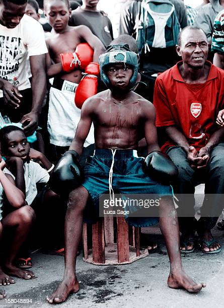 Street Fight Boxers, Accra, Ghana