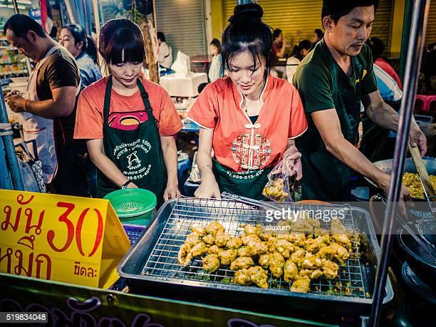Street Food Chinatown Bangkok Thailand