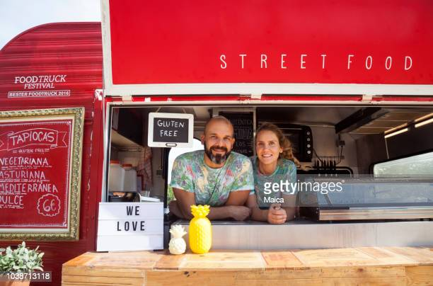 street food event - food truck stock pictures, royalty-free photos & images