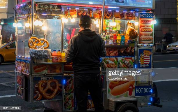 Street food in New York City