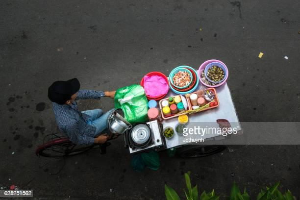 Street food in Saigon, Ho Chi Minh, Vietnam