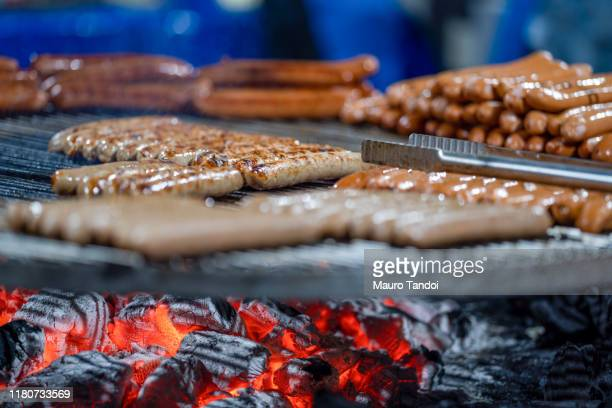 street food, roasted, grilled - mauro tandoi stock photos and pictures