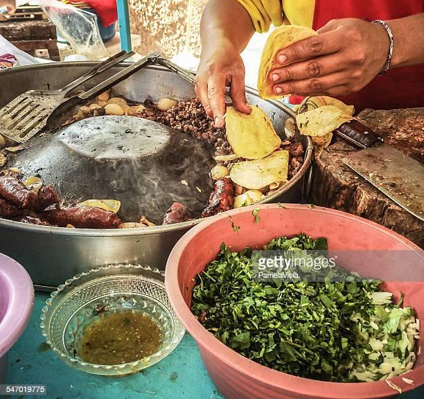 Street food, San Miguel de Allende, Guanajuato, Mexico