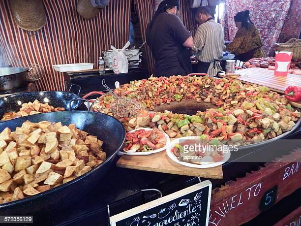 street food store - chicharrones fotografías e imágenes de stock