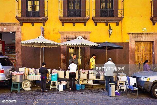 Street Food Venders in San Miguel de Allende, Mexico