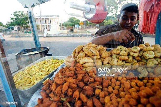 Street food vendor, Dutch Bay.