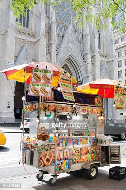 NYC Street food vendor