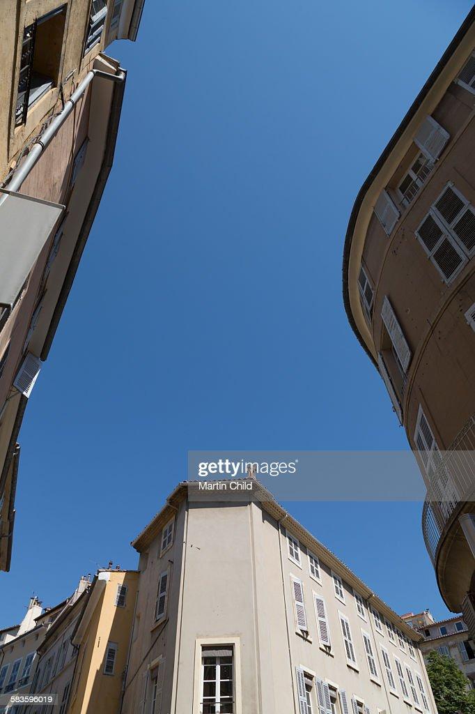 Street in Aix en Provence : Stock Photo
