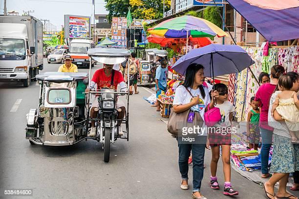 Street in Batangas, Philippines