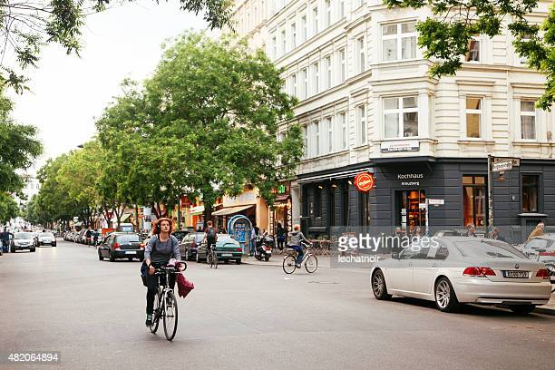 street in berlin - kreuzberg stock photos and pictures