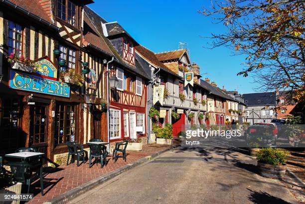 Street in Beuvron - en - Auge , France