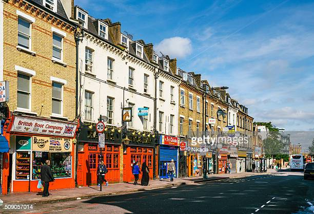 Street in Camden Town, London