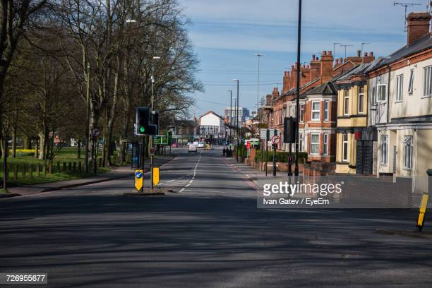 street in city - coventry stock pictures, royalty-free photos & images