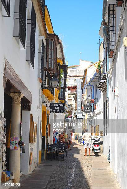 street in cordoba - old town stock pictures, royalty-free photos & images