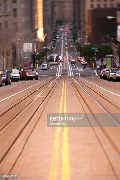 Street in downtown San Francisco