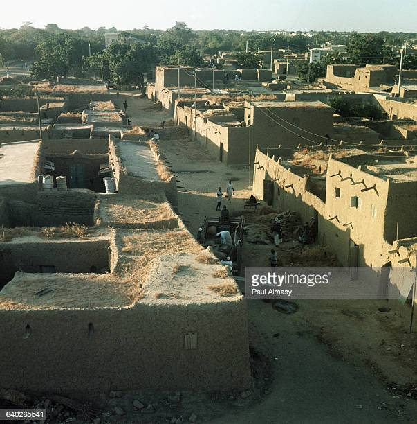 A street in Fort Lamy the capital of Chad | Location Fort Lamy Republic of Chad Africa