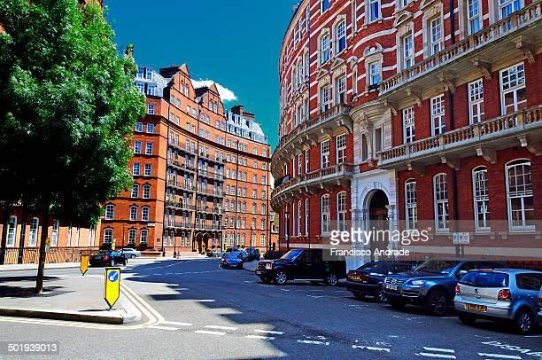 CONTENT] Street in Kensington London England