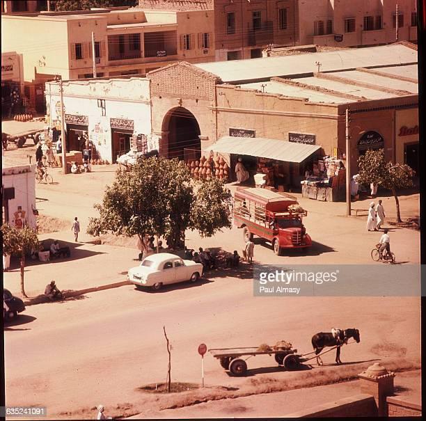 A street in Khartoum Sudan 1963