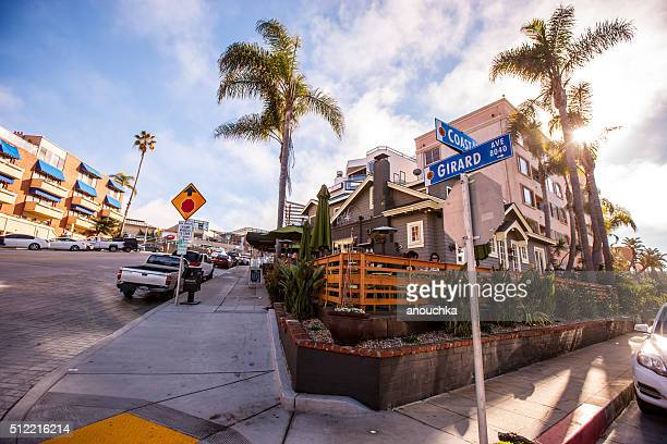 street in la jolla, california, usa - la jolla stock pictures, royalty-free photos & images