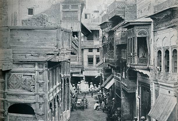 Street in Lahore the capital of the Panjab` circa 1942 From The Studio Volume 124