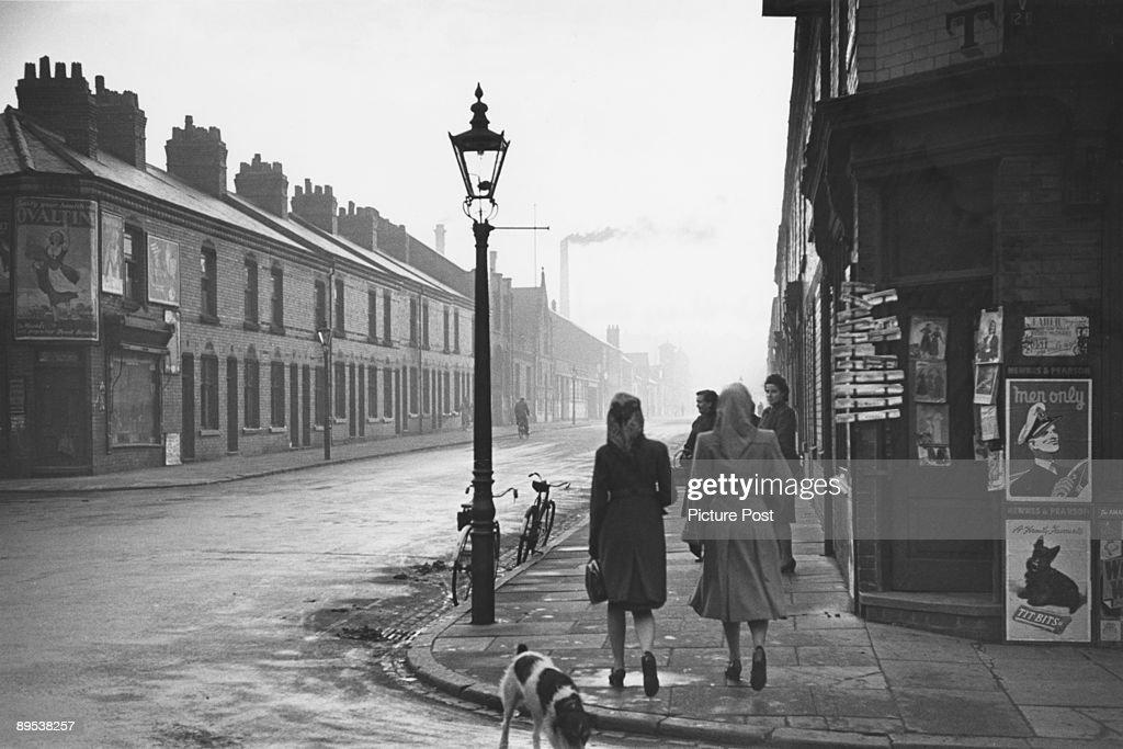 Leicester Street : News Photo