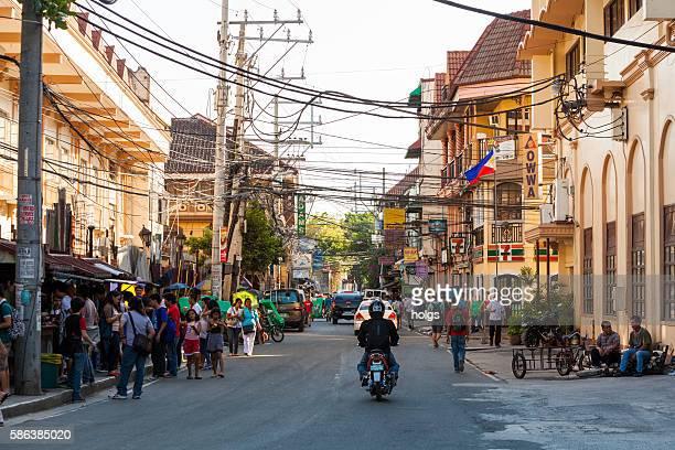 Calle en Manila, Filipinas