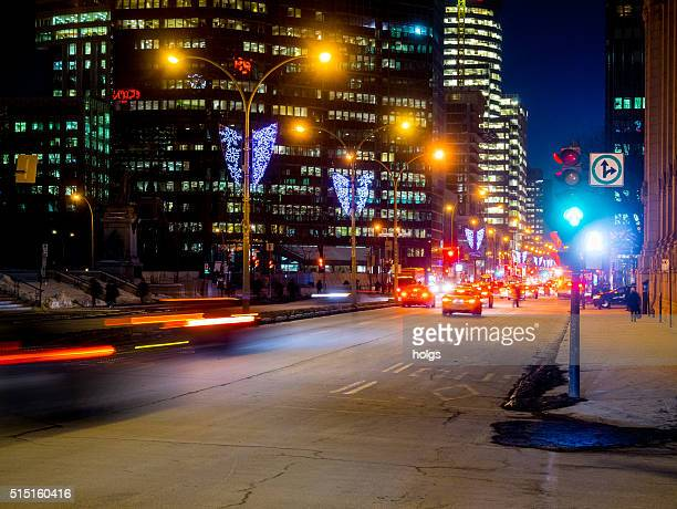 Street in Montreal, Canada