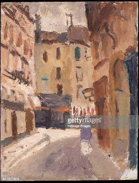A street in Nantes' 19201930 Artist Christopher Wood